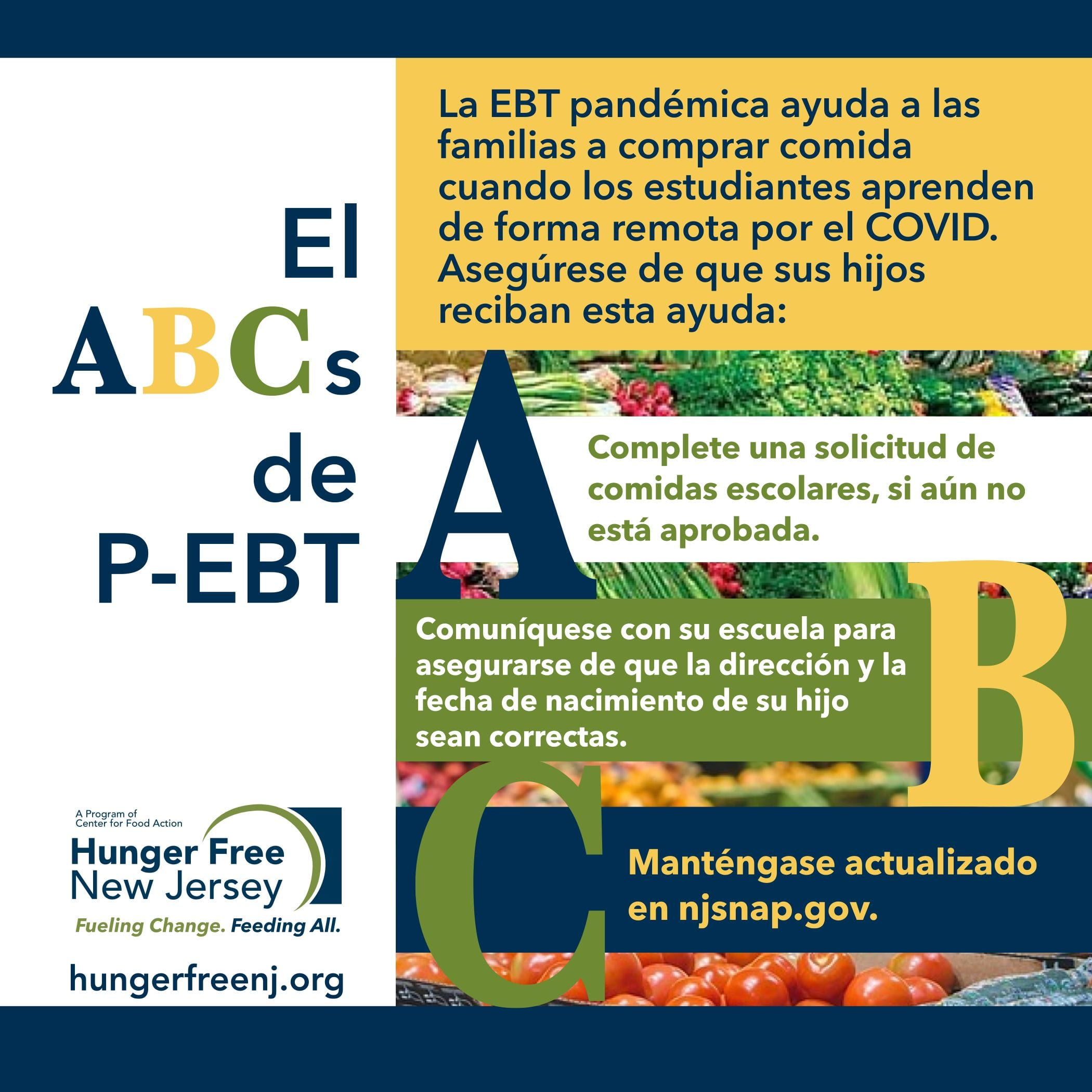 Read more about the article NJ's Pandemic EBT plan approved!