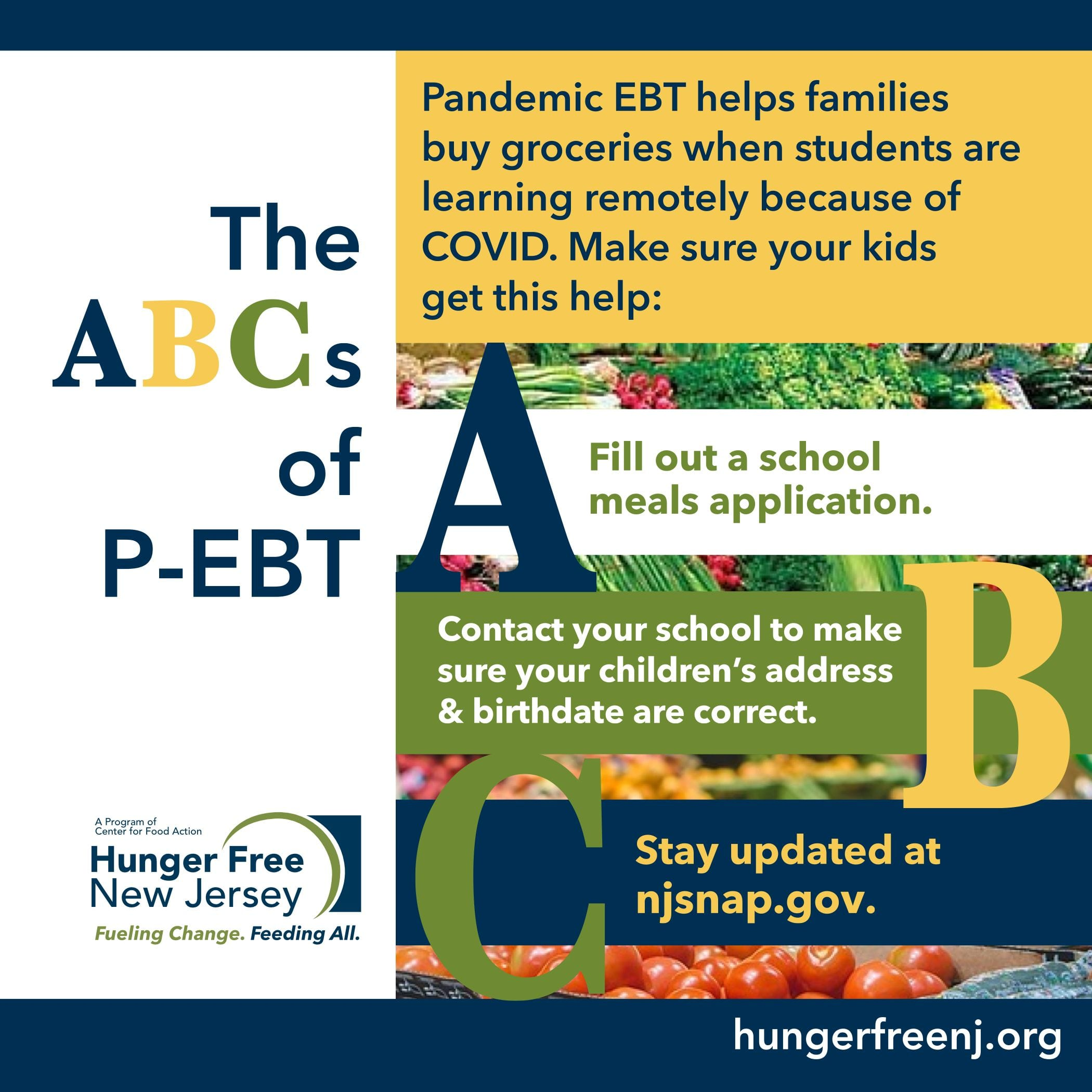 Read more about the article Spread the word about P-EBT
