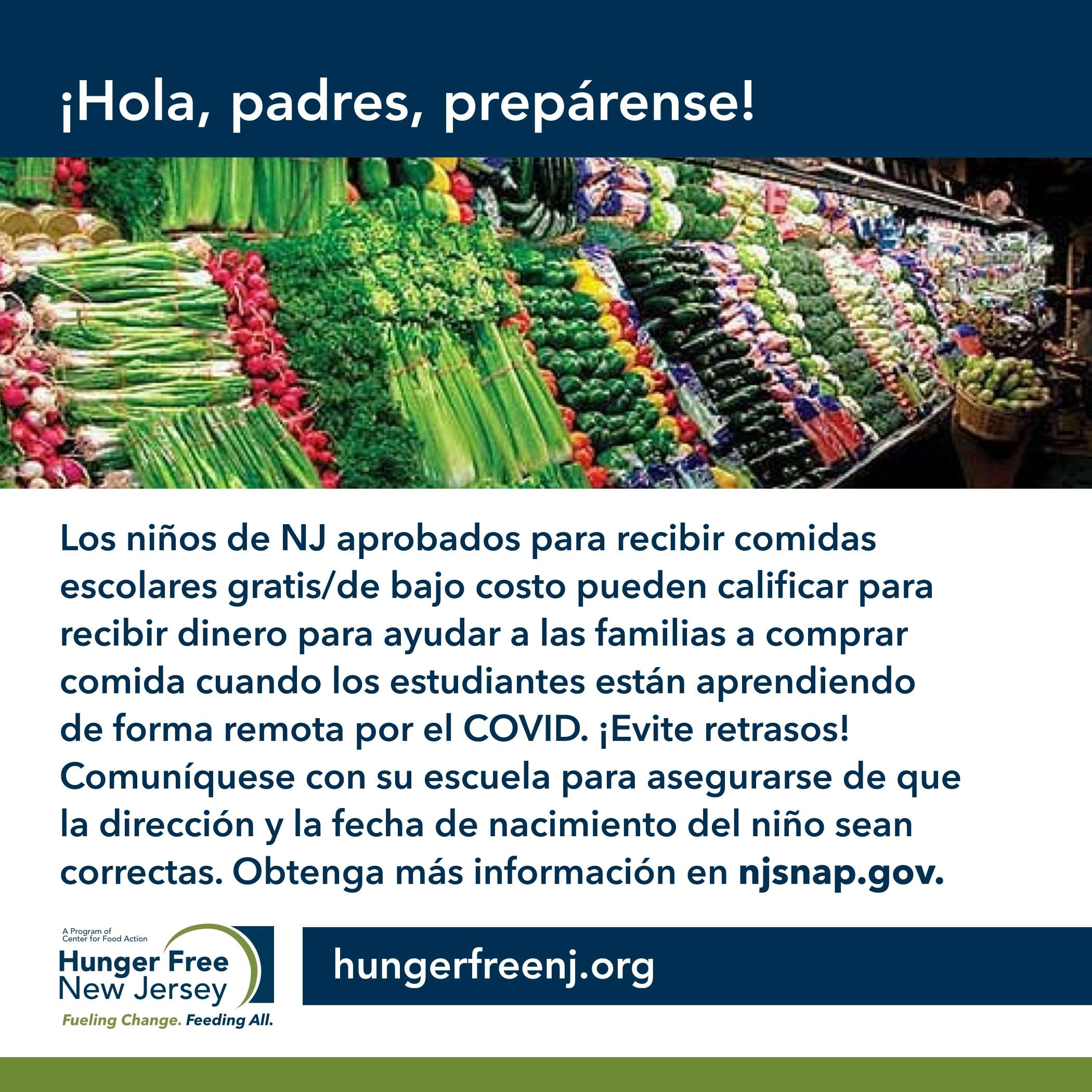 Read more about the article ¡Hola, padres, prepárense!