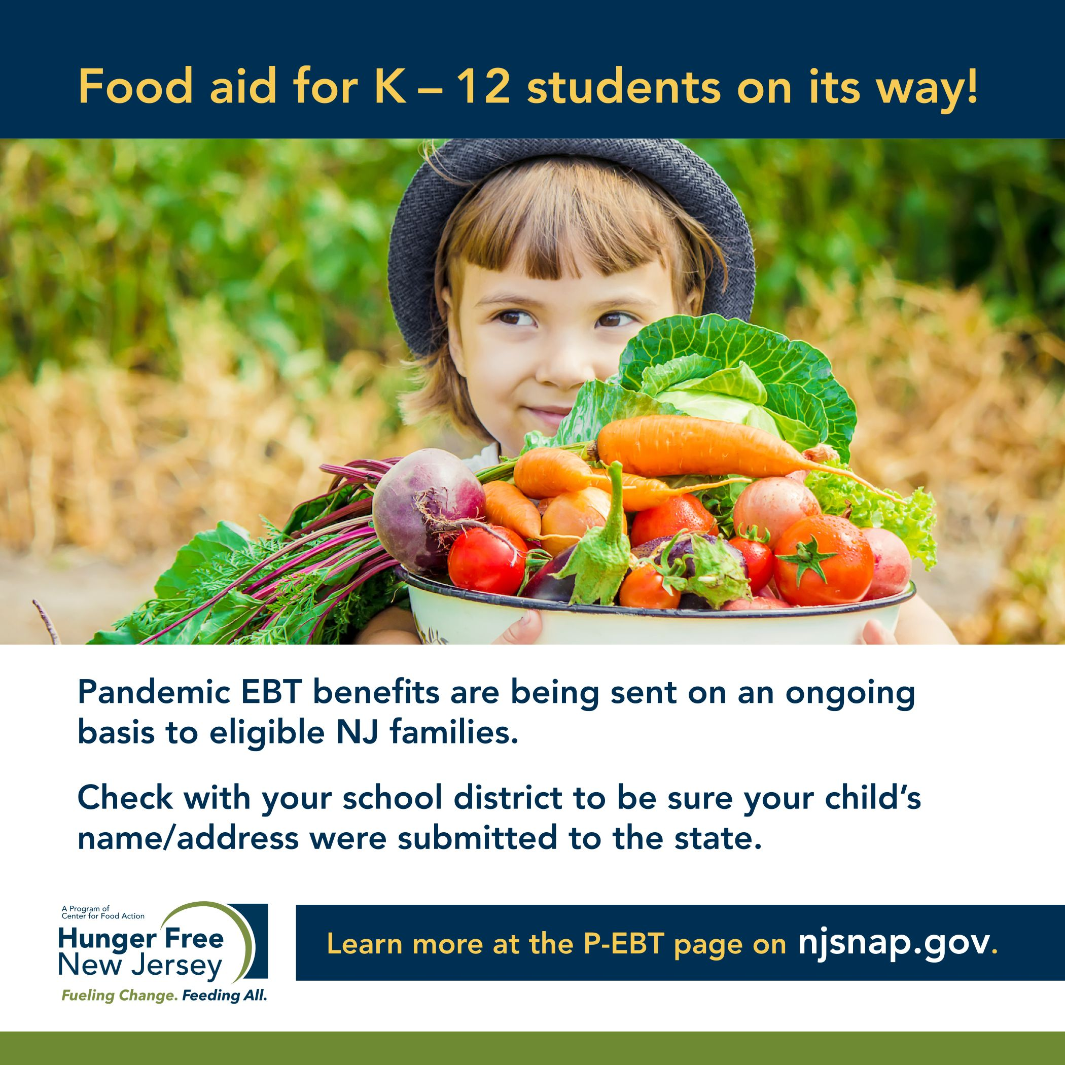 Read more about the article Food aid for K-12 students on its way!