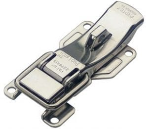 641-1000SS: ProLatch with Safety Catch & Padlockable Stainless Steel