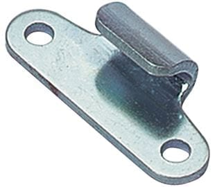 Keeper Plate for Junior ProLatch Mild Steel Zinc Plate Passivate