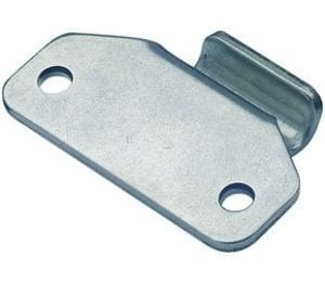 Catch Plate for Toggle Latch Mild Steel Zinc Plate Passivate