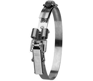 210-255mm Diameter Hi-Torque Spring Claw Stainless Steel Quick Release Bandclamp