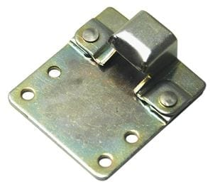 Keeper Plate with Extension Plate for CatchBolt Mild Steel Zinc Plate Passivate
