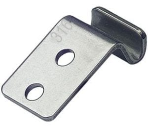 Catch Plate for Toggle Latch Stainless Steel type 316