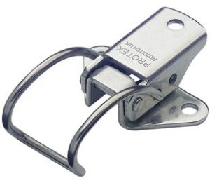 18-1345SS: Spring Claw Toggle Latch Light Duty Stainless Steel (Natural)