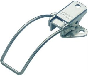 18-2430MSZN: Spring Claw Toggle Latch Light Duty Mild Steel Zinc Plate Passivate (Silver Blue)