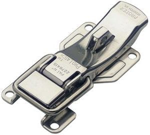 641-1000SS: ProLatch with Safety Catch & Padlockable Stainless Steel (Natural)