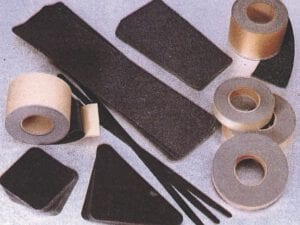 grit tape and mats