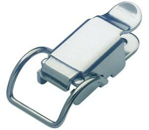 20-1066MSZN: Spring Claw Toggle Latch Light Duty Mild Steel Zinc Plate Passivate (Silver Blue)