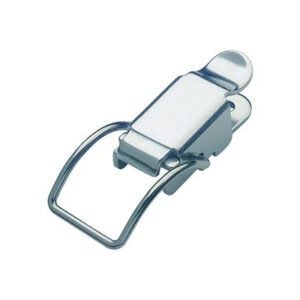 20-1015MSZN: Spring Claw Toggle Latch Light Duty Mild Steel Zinc Plate Passivate (Silver Blue)